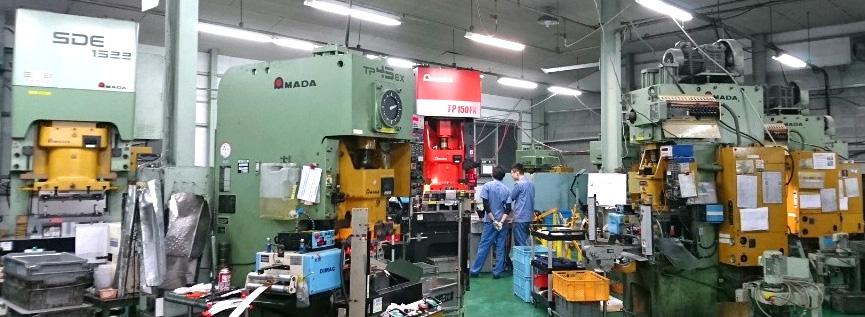 福田工業の主要設備