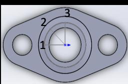 測定位置1、3からの断面図